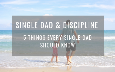 Single dad and discipline